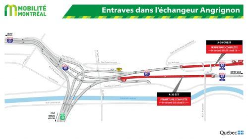 Montreal road closures