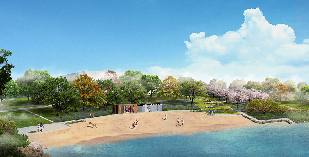 Montreal's development of Verdun urban beach continues this May (PHOTOS)