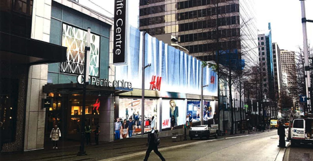 H&M flagship store at CF Pacific Centre to undergo major expansion