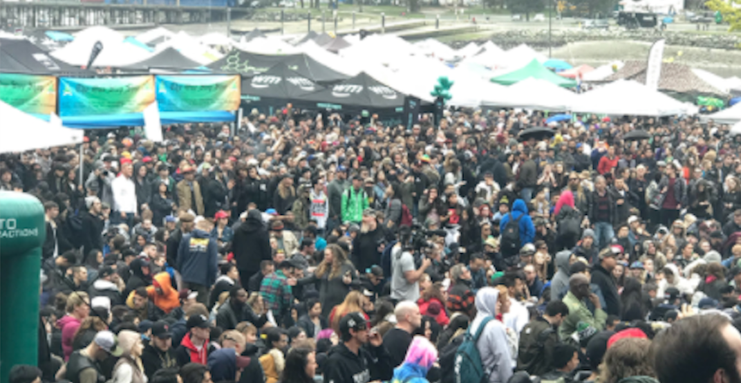 Opinion: Vancouver 4/20 is no longer a protest -- it's a party and tradeshow