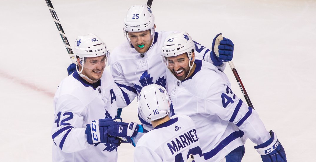 Maple Leafs keep season alive in Game 5 thriller in Boston