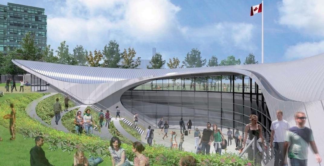 York university station rendering