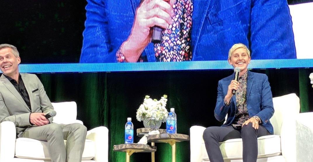 Ellen DeGeneres honours Humboldt Broncos during Canadian appearance (VIDEO)