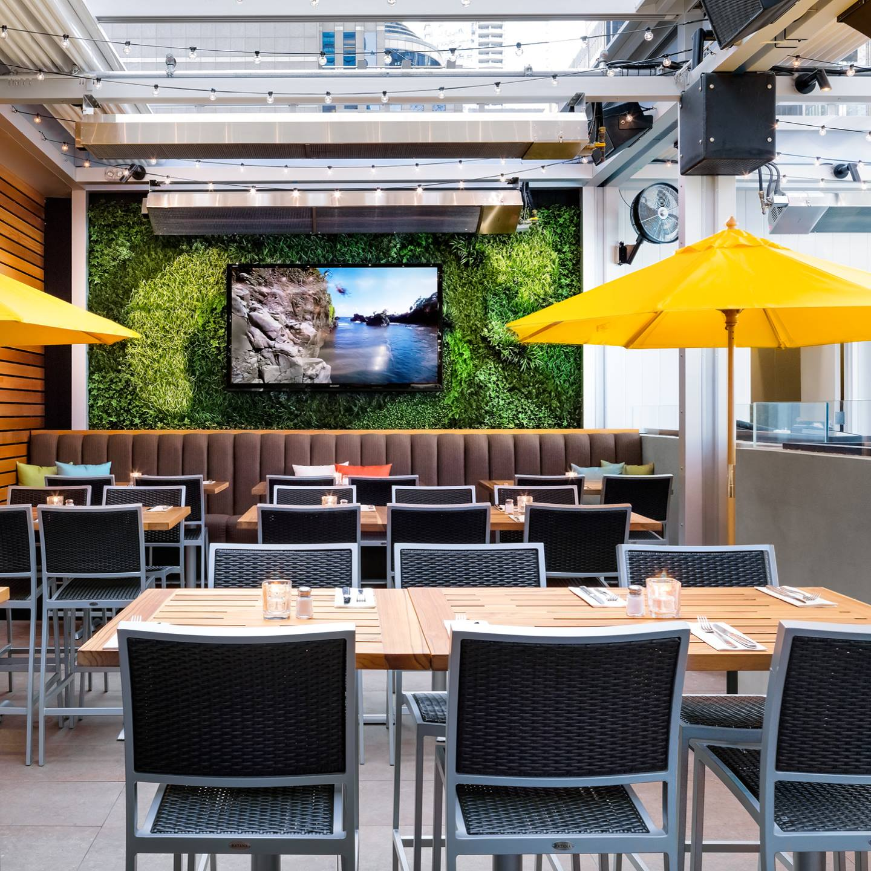 Cactus Club Cafe patio