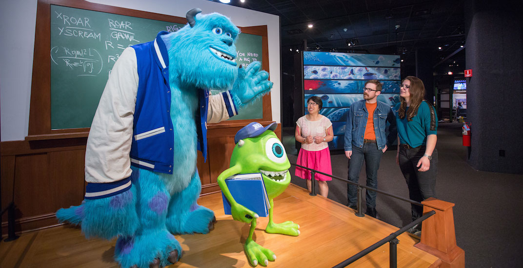 Captivating Disney Pixar exhibition coming to Science World next month