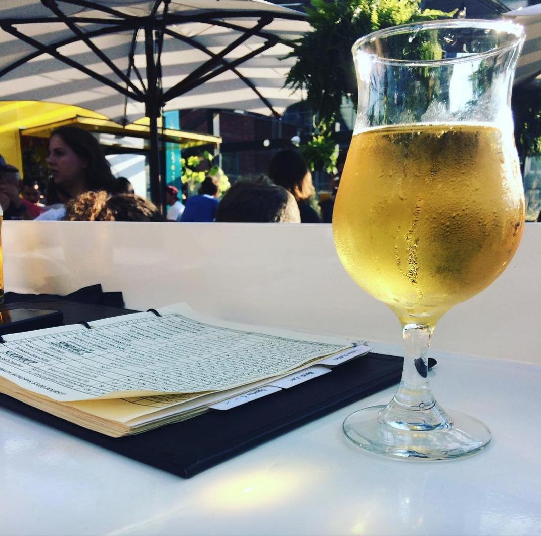 Bar Hop beer patio rooftop