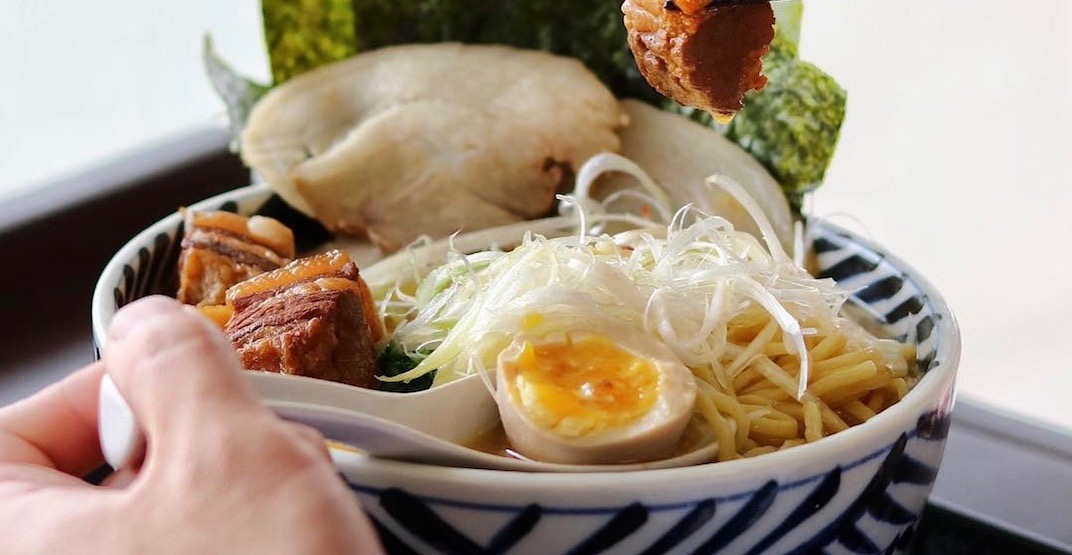 This ramen spot could be Metro Vancouver's undisputed Japanese food champion