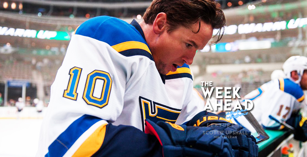 The Week Ahead Podcast: Scottie Upshall gives his NHL playoff predictions