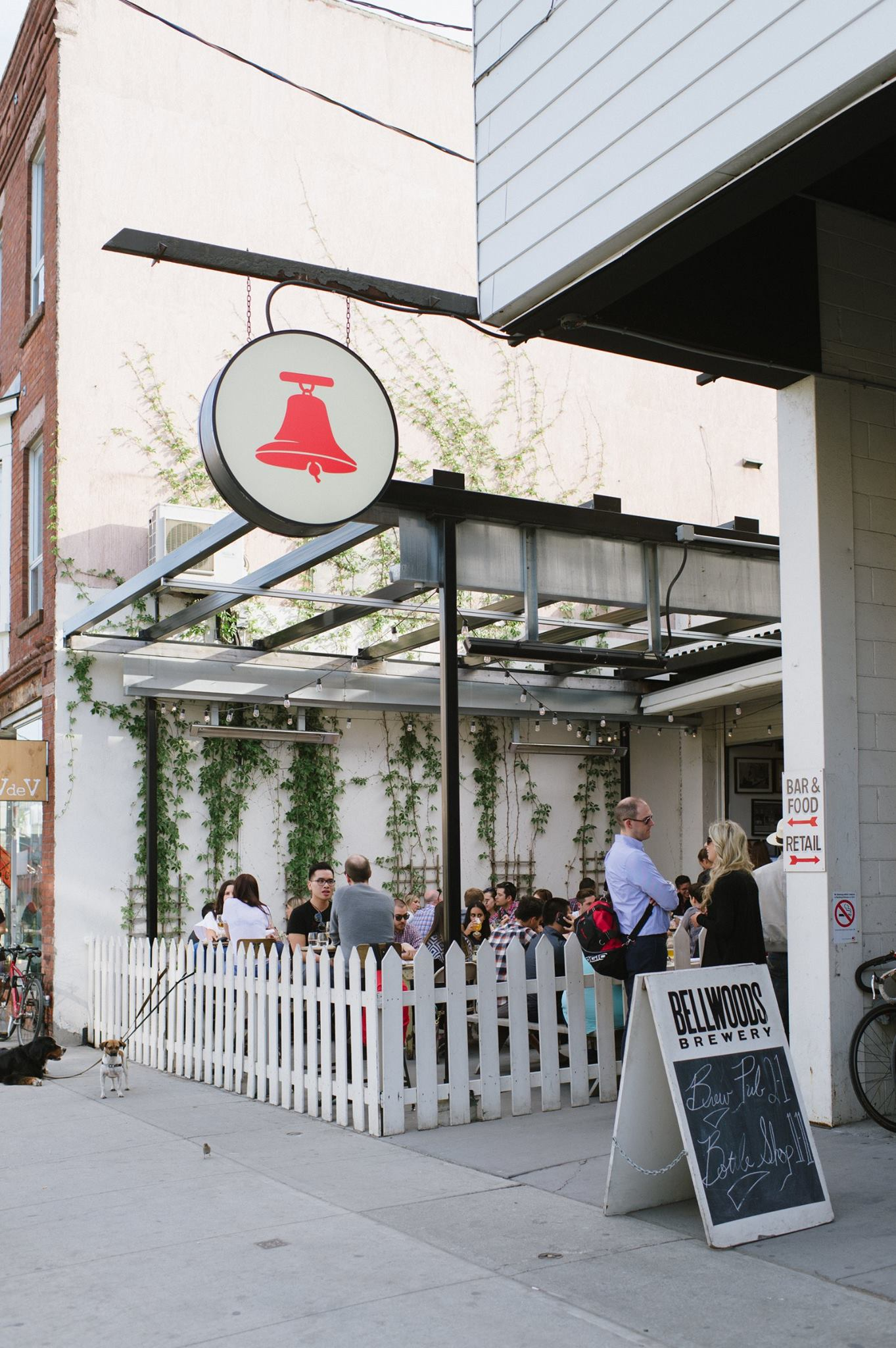 Bellwoods Brewery patio