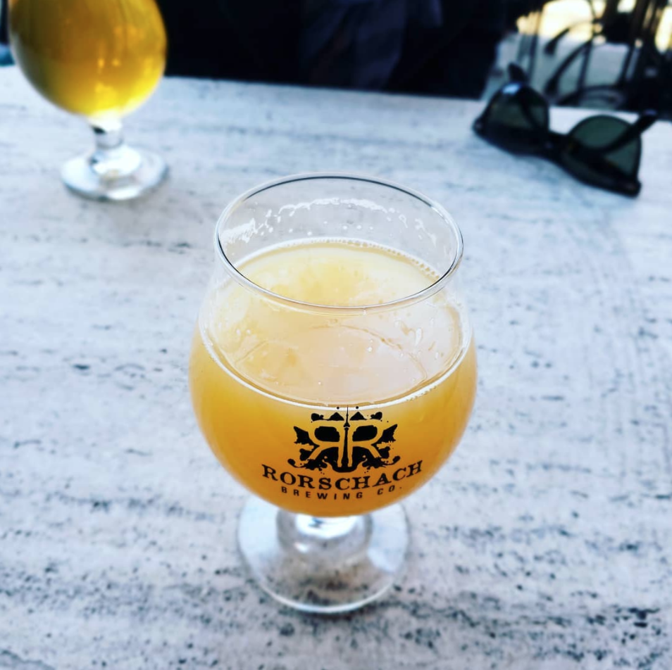 Rorschach Brewing Co. beer patio