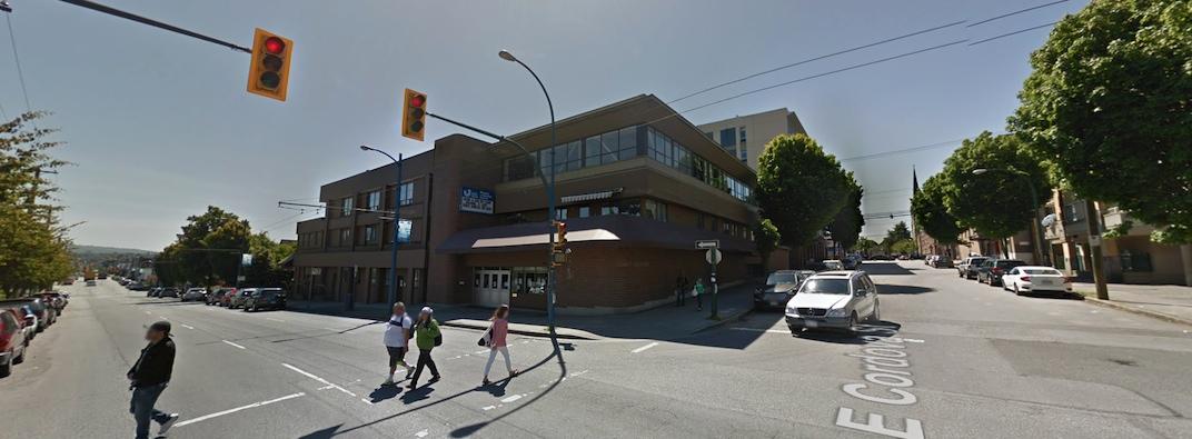 Union Gospel Mission 616 East Cordova Street Vancouver