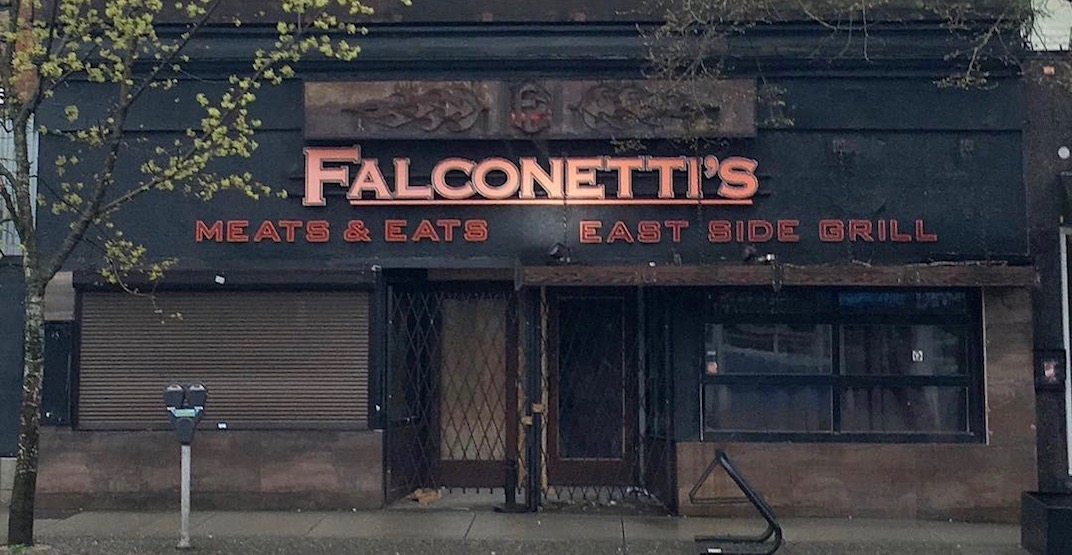 Falconetti's East Side Grill is NOT closed for good
