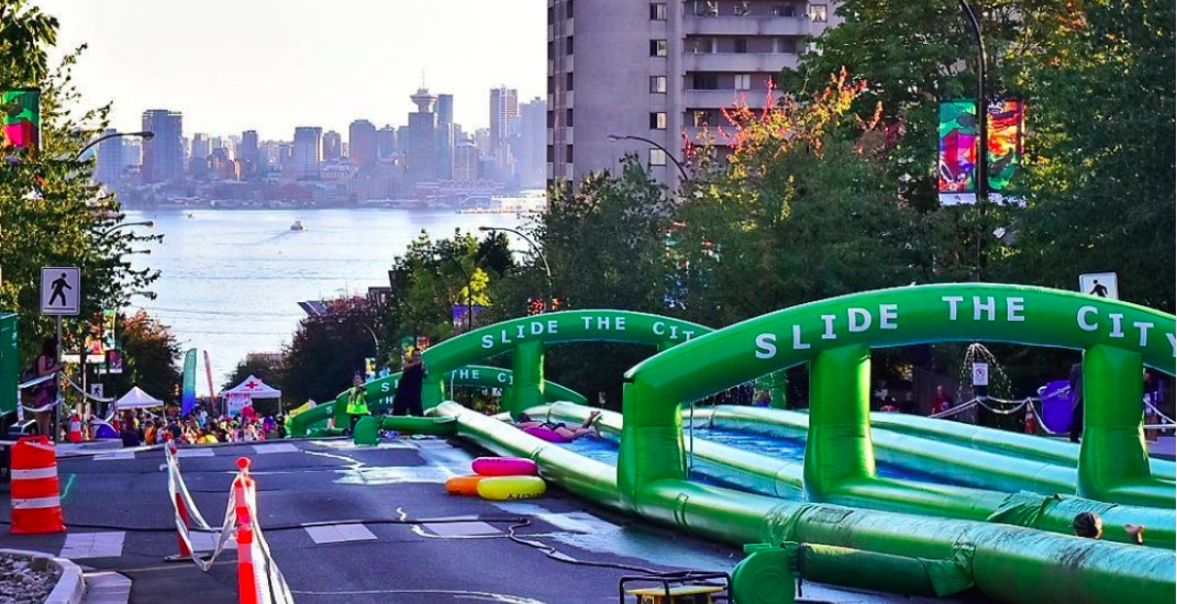 Slide the City North Vancouver returns for 2 days this summer