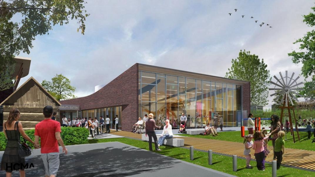 Surrey Museum expansion