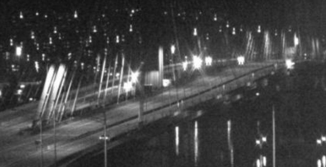 [UPDATED] Port Mann Bridge closed to all traffic due to police incident