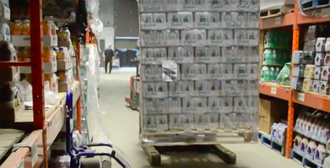 Montreal Police locate over 11,000 cases of stolen beer (VIDEO)