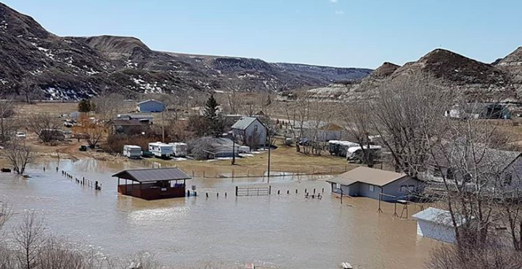Parts of Alberta being evacuated due to overland flooding