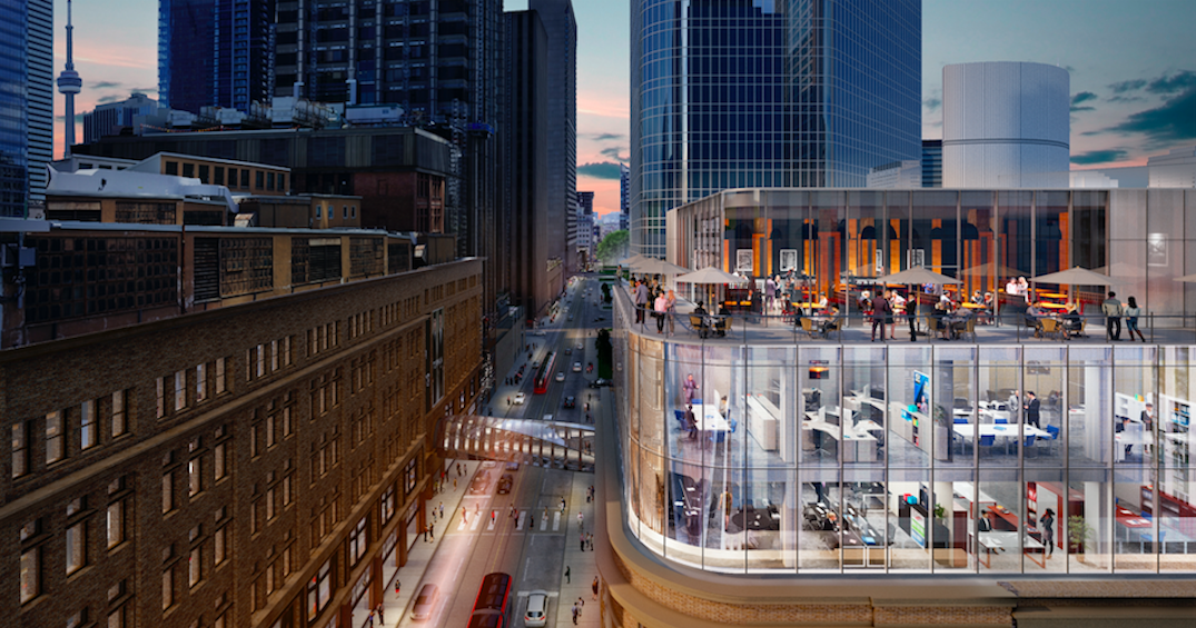 Toronto heritage building getting a makeover AND a rooftop restaurant (RENDERINGS)