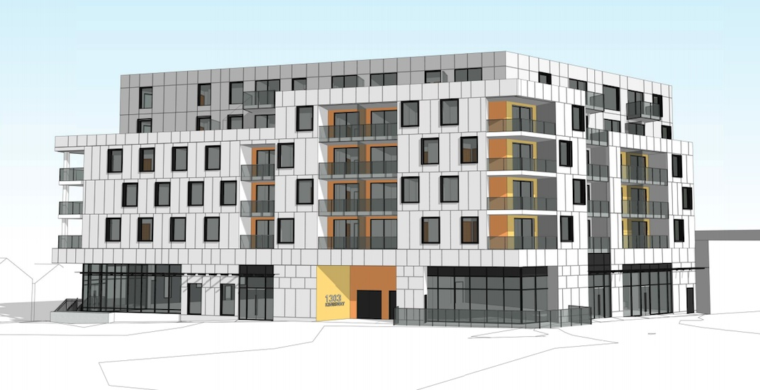 Rental building proposed for corner of Kingsway and Clark in Vancouver