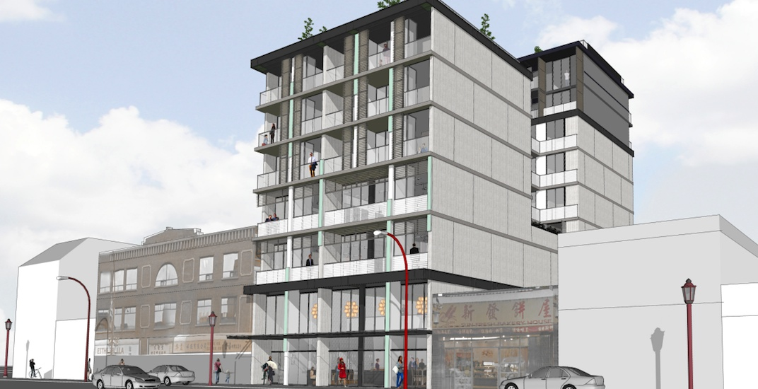 Contemporary heritage-inspired building proposed for Vancouver's Chinatown