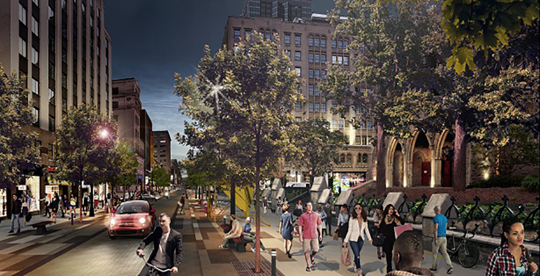 Montreal reveals transformative project for St. Catherine Street (PHOTOS)