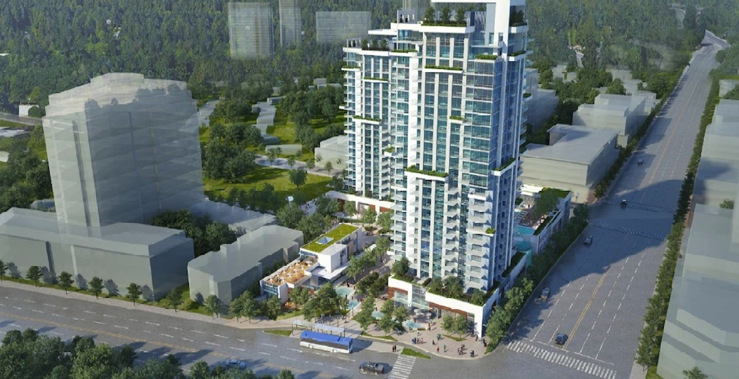 Two condo towers approved to replace Grouse Inn Hotel at north end of Lions Gate Bridge in North Vancouver