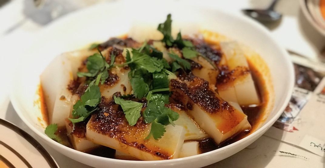 Efendi cold tossed rice noodle in numbing chili oil 2