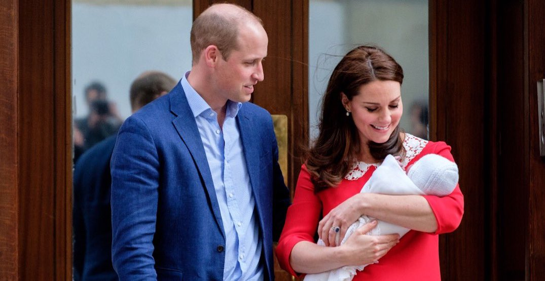 The Duke and Duchess of Cambridge announce the name of their son