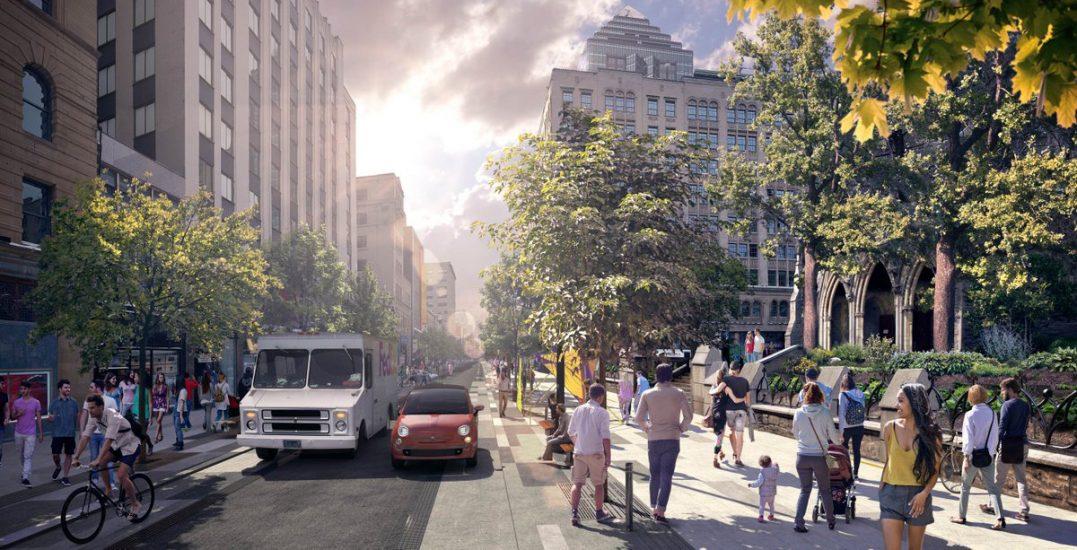 Toronto's former city planner praises Ste. Catherine Street design