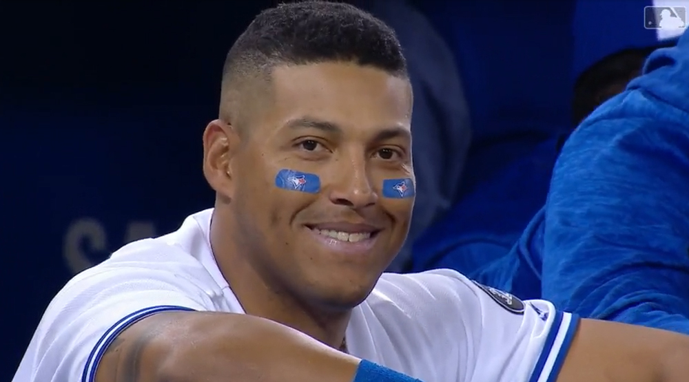 Yangervis Solarte is dancing his way into the hearts of Blue Jays fans