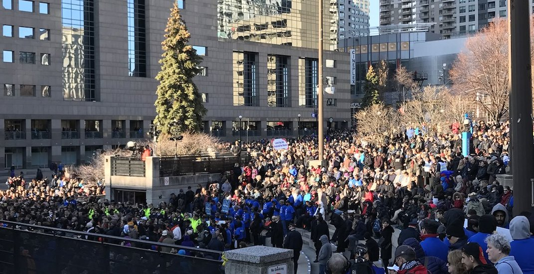 Thousands gather to mourn lives lost in tragic Toronto van attack (PHOTOS)