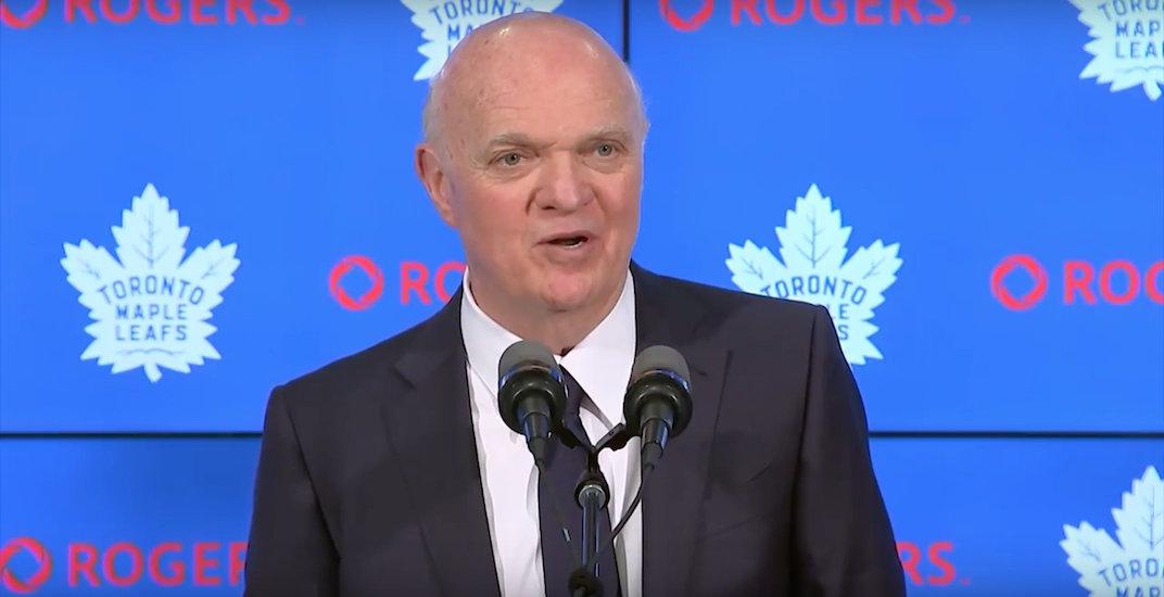 Lou Lamoriello won't return as Maple Leafs general manager