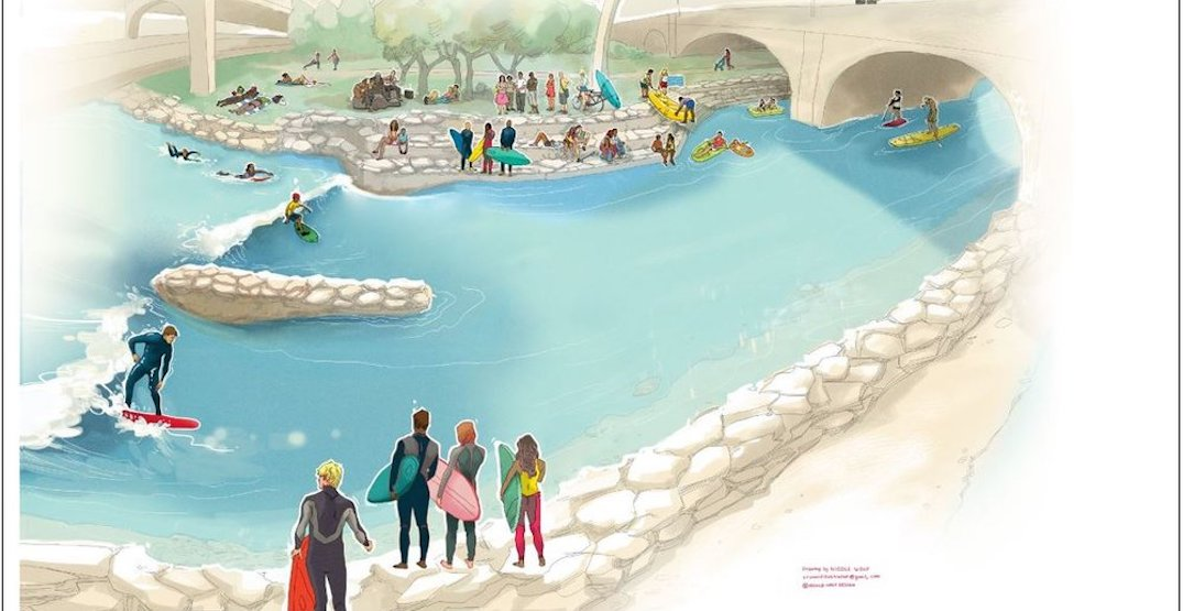 The Bow River could get wave generators and urban beach