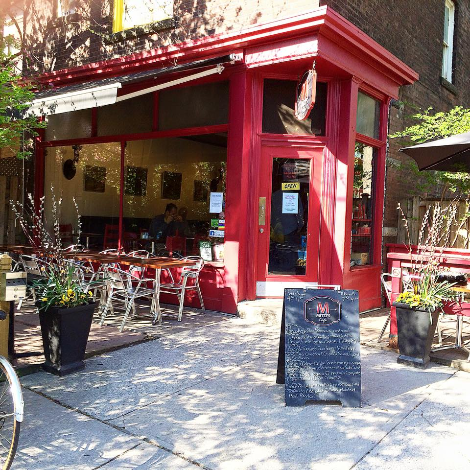 Mitzis cafe patio brunch