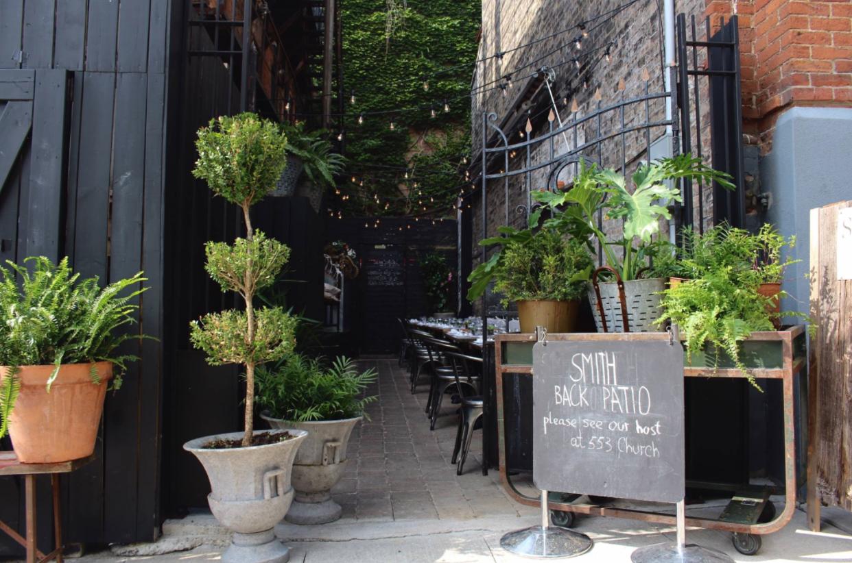 Smith patio