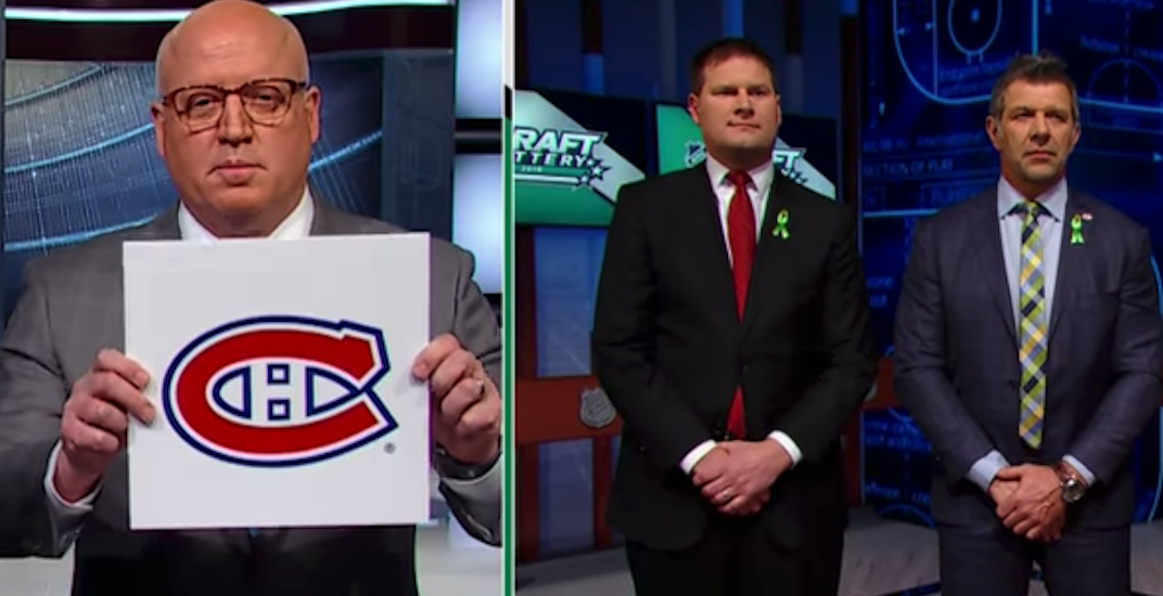 Canadiens draft lottery