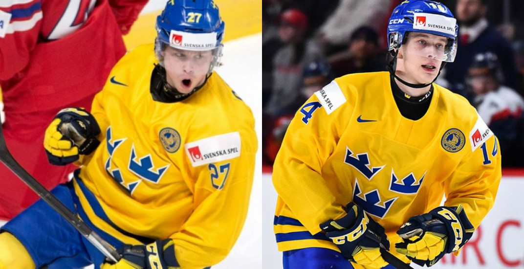Two Canucks prospects won MVP awards in Sweden today