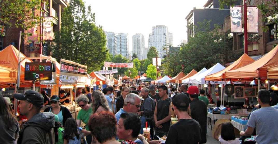 Vancouver's Chinatown Night Market is cancelled for 2018