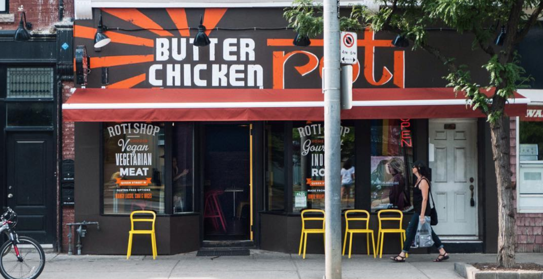 Butter Chicken Roti is opening two Toronto locations