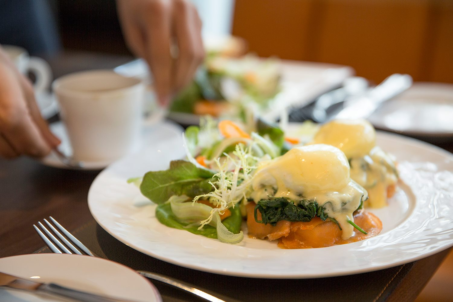 Cafe Boulud brunch eggs benedict