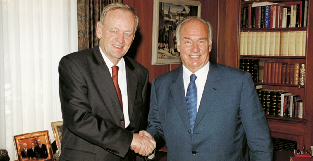 Jean Chretien: The Aga Khan's Diamond Jubilee is a celebration for all Canadians