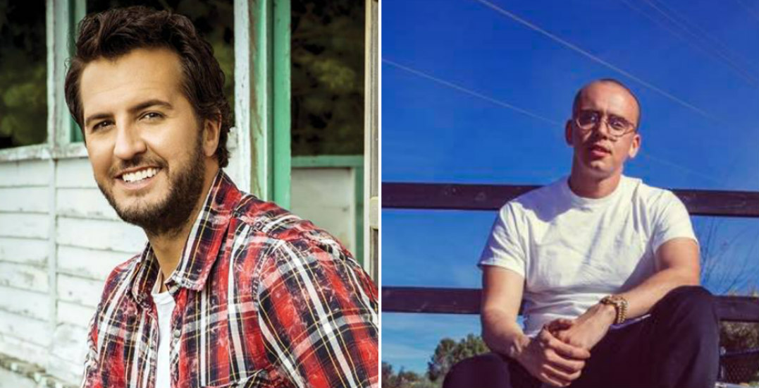Win tickets to see Luke Bryan and Logic live in Vancouver (CONTEST)