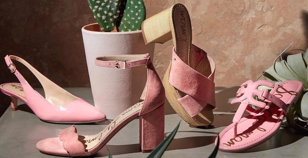 A huge designer shoe sale is happening in Toronto this weekend