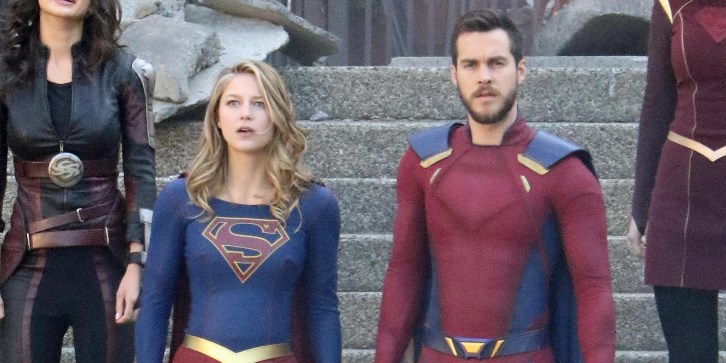 Supergirl films Season 3 finale in Vancouver (PHOTOS)