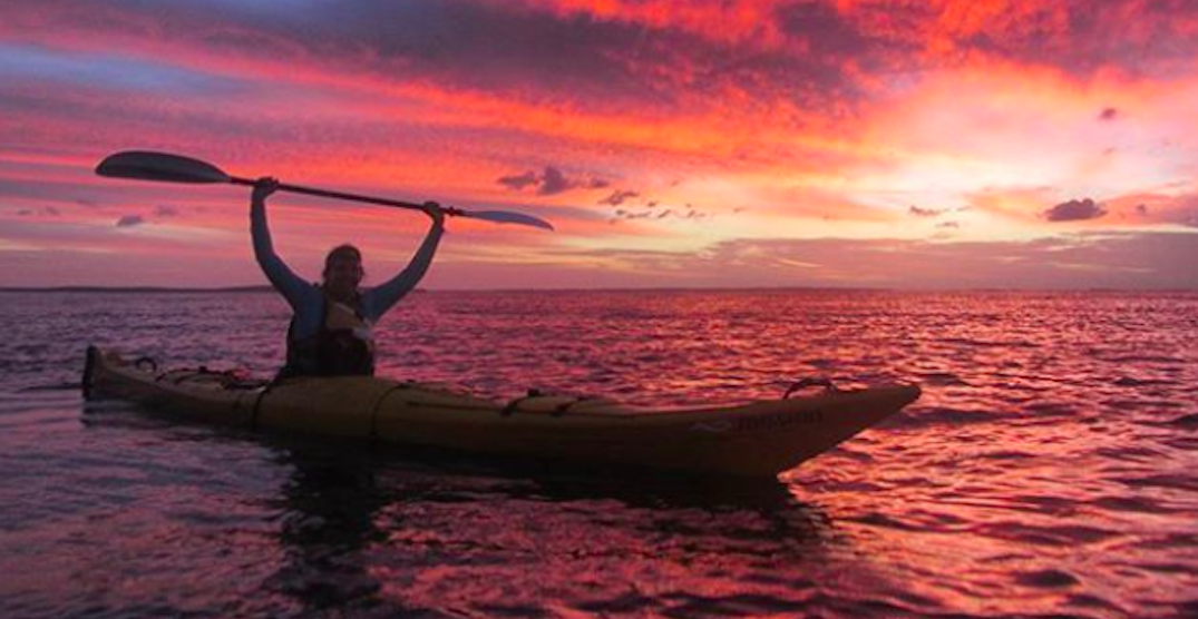 Two women are kayaking 2,000 km up the BC coast to end single-use plastics