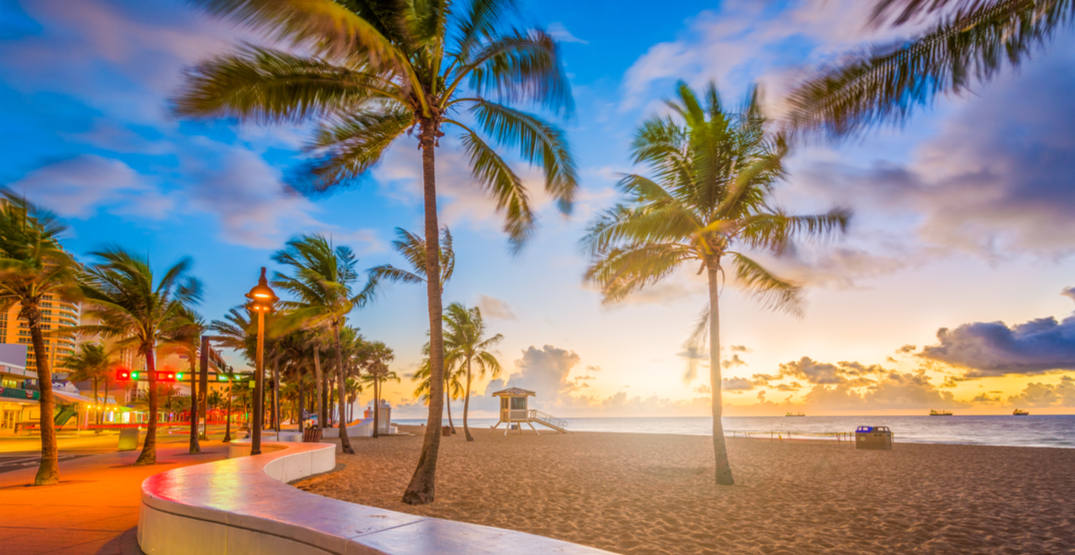 You can fly from Calgary to Fort Lauderdale for under $300 roundtrip