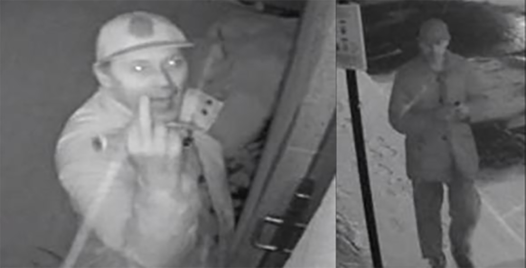 Police searching for vandal who wrote hate messages about women