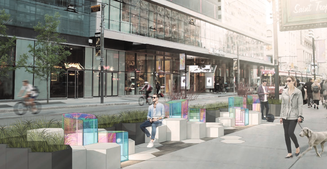 City rolls out new public space and patios along King Street Transit Pilot corridor