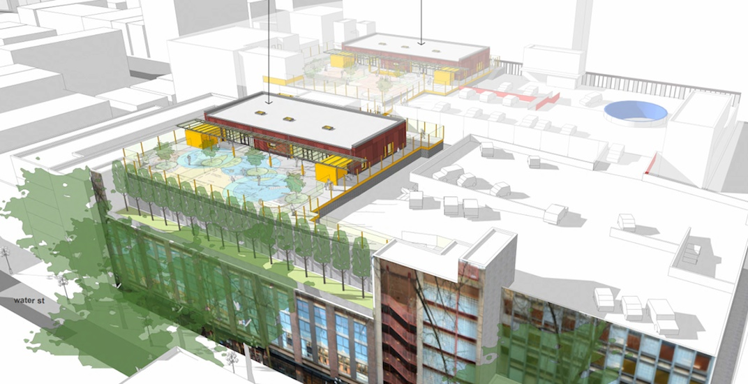 This Gastown parkade could soon have a rooftop daycare and preschool