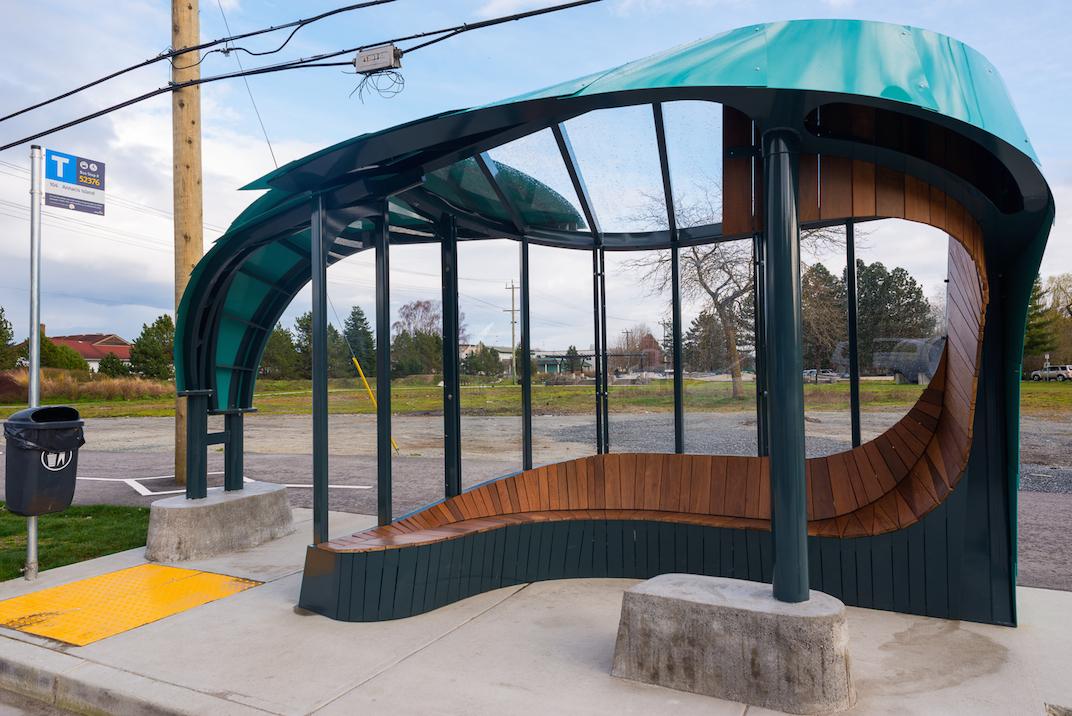 New Westminster Public Art Bus Shelter